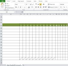 Stat Sheet Template Baseball Stats Spreadsheet Excel Template Excel Tmp