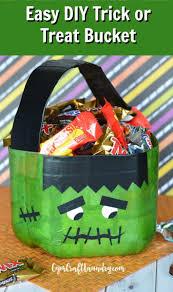 halloween basket decoupage halloween treat bucket