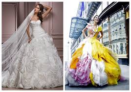 colored wedding dresses whiteazalea gowns multi colored gown