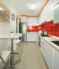 narrow kitchen ideas narrow kitchen with dining table