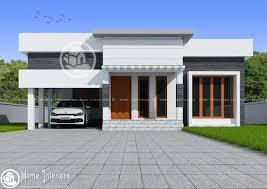 single home design new single floor house design building plans