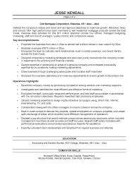 Mortgage Broker Resume Sample by Free Brokerage President Resume Example