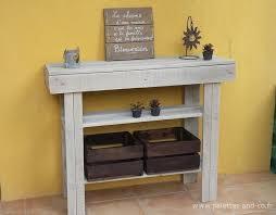 cuisine pour surface cuisine pour surface 8 console en bois de palettes