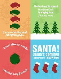 elf movie quotes christmas printables www galleriabyleah com