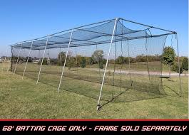 cimarron 60x12x10 24 twisted poly batting cage net