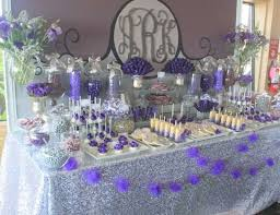 Candy Table For Wedding Best 25 Purple Dessert Tables Ideas On Pinterest Purple Party