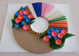 Paper Craft Decoration Ideas Wall Decor Ideas Easy Paper Wall Craft Using Best Out Of Waste