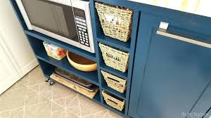 do it yourself kitchen island blue kitchen island with butcher block top exles of stylish