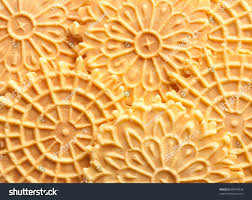 traditional italian pizzelle holiday cookies stock photo 88443328