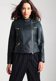 pinko sale dresses pinko numbers leather jacket green women