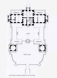 chateau floor plans chateau de balleroy ground floor plan architectural plans and