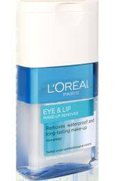 l oreal eye lip make up remover