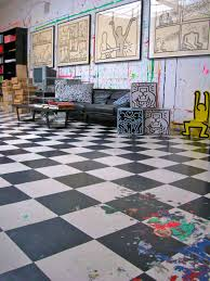 an exclusive peek inside keith haring s new york city studio a view of keith haring s