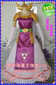 Zelda Costumes Halloween Legend Zelda Princess Zelda Costume Cosplay Twilight