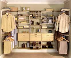 stunning walk in wardrobe designs with u shape brown closets also