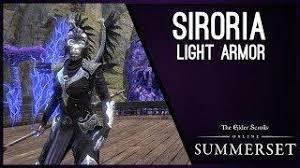elder scrolls online light armor sets vestment of olorime light armor set summerset chapter elder