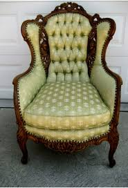 chairs innovative grey wingback chair leather wing green
