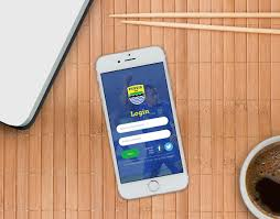 behance login login screen persib mobile app ui ux design on behance persib
