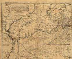 Map Of Northwest Ohio by 1780 To 1784 Pennsylvania Maps