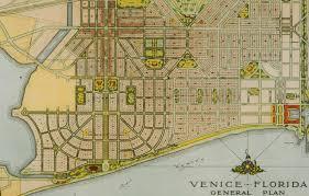 Map Of Venice Florida The Enduring Legacy Of John Nolen Cnu