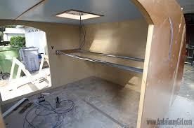 homebuilt teardrop trailer 8 child u0027s hammock bed more than