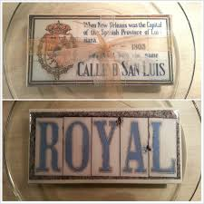 Home Decor New Orleans New Orleans Spanish Tile Replica Home Decor New Orleans