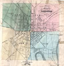 map of lancaster pa early landowners of lancaster county