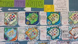 Real Treasure Maps Making Treasure Maps Directions Lesson Project Mrs Baia U0027s