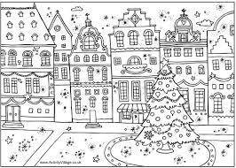 printable christmas coloring book pages christmas wishes gifts