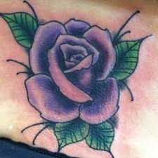 30 best black and purple rose tattoos images on pinterest purple