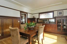 craft craftsman dining room