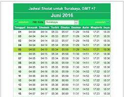 Jadwal Sholat Jogja Jadwal Imsakiyah Puasa Ramadhan 1437 Hari Ini Senin 27 Juni 2016