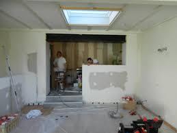 mur en cuisine ouverture mur cuisine salon laby co