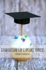 graduation cap toppers graduation cap cupcake toppers dukes and duchesses