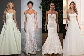 strapless wedding dresses strapless wedding dresses brides magazine 2017 bridesmagazine