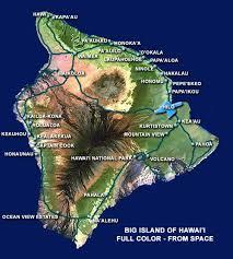 map kona usa big island hawaii hilo kona drive times mileage chart