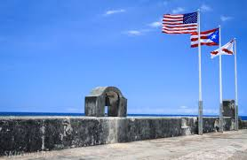 Flag Puerto Rico Old San Juan Puerto Rico Standing The Test Of Time