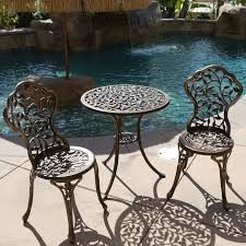 Vintage Style Patio Furniture - vintage cast aluminum patio furniture home design great photo to