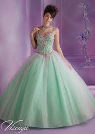dress for quincea era layered tulle quinceanera dress with embroidery and beading
