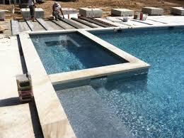 pool spa built on the bluffs of southampton patricks pools pool
