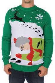 got runover by a reindeer sweater tipsy elves
