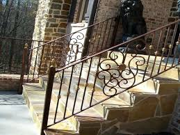 outdoor stair railings ideas best railing on deck how to build