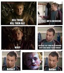 Eat A Snickers Meme - joffrey eat a snickers meme by cedriceent memedroid