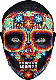 Day Of The Dead Mask Day Of The Dead Mask 2 U2014 Mask Junction Celebrity Face Masks