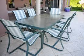 Patio Table And 6 Chairs Patio Furniture Table And 6 Chairs The Hull Boating And