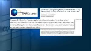 bureau union bruxelles abbas anti semitism controversy euronews
