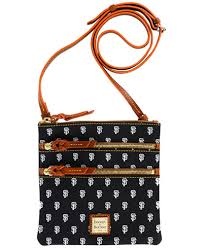 dooney u0026 bourke san francisco giants triple zip crossbody bag