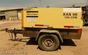 1999 atlas copco xas96 air compressor item da3056 sold