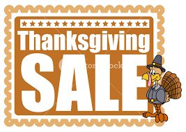thanksgiving day turkey sale banner royalty free stock image