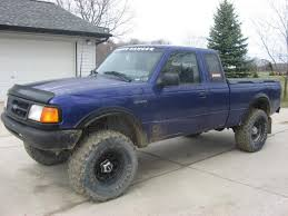 ranger ford lifted 1995 ford ranger information and photos zombiedrive